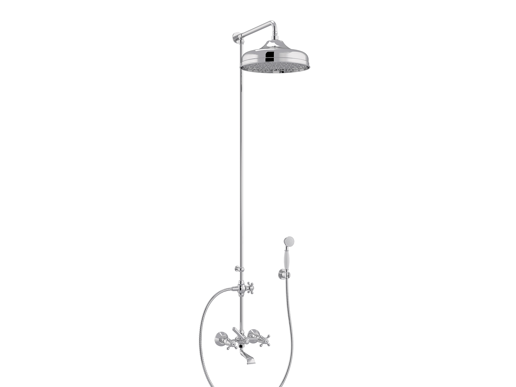 Set bath-shower mixer, head Ø300mm 1921.--.76