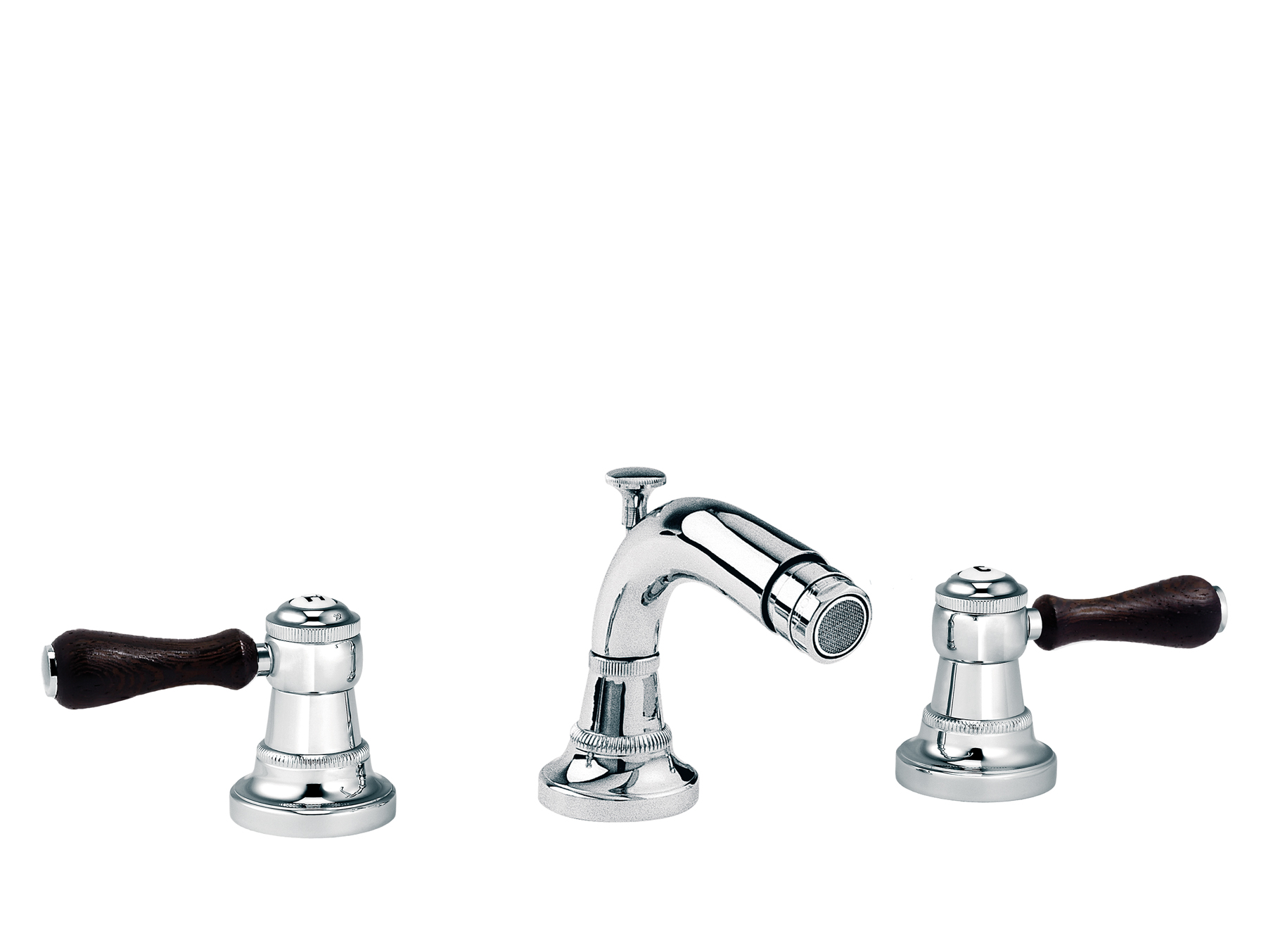 3-hole bidet mixer, with waste 1935.--.57-xx