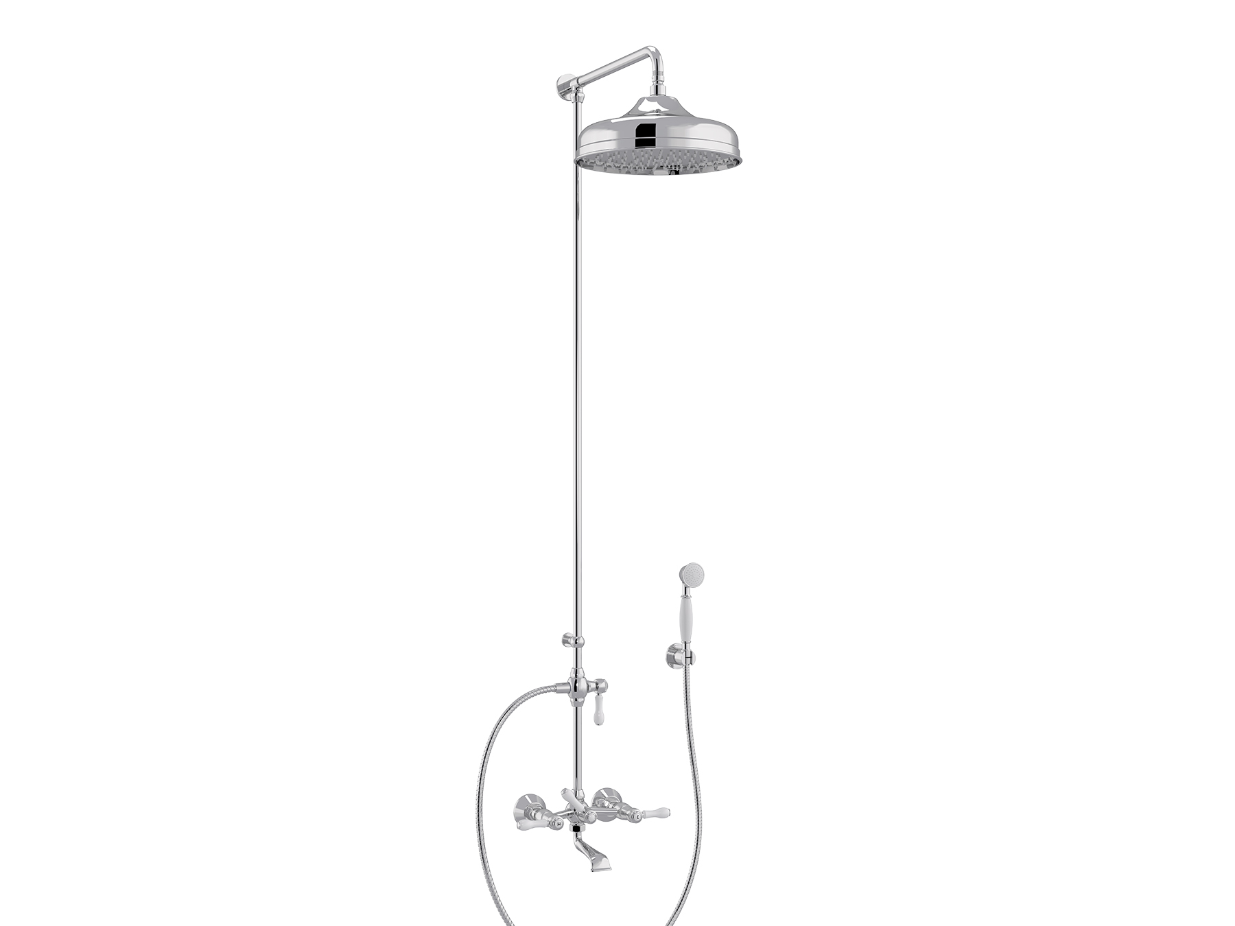 Set bath-shower mixer, head Ø300mm 1935.--.76