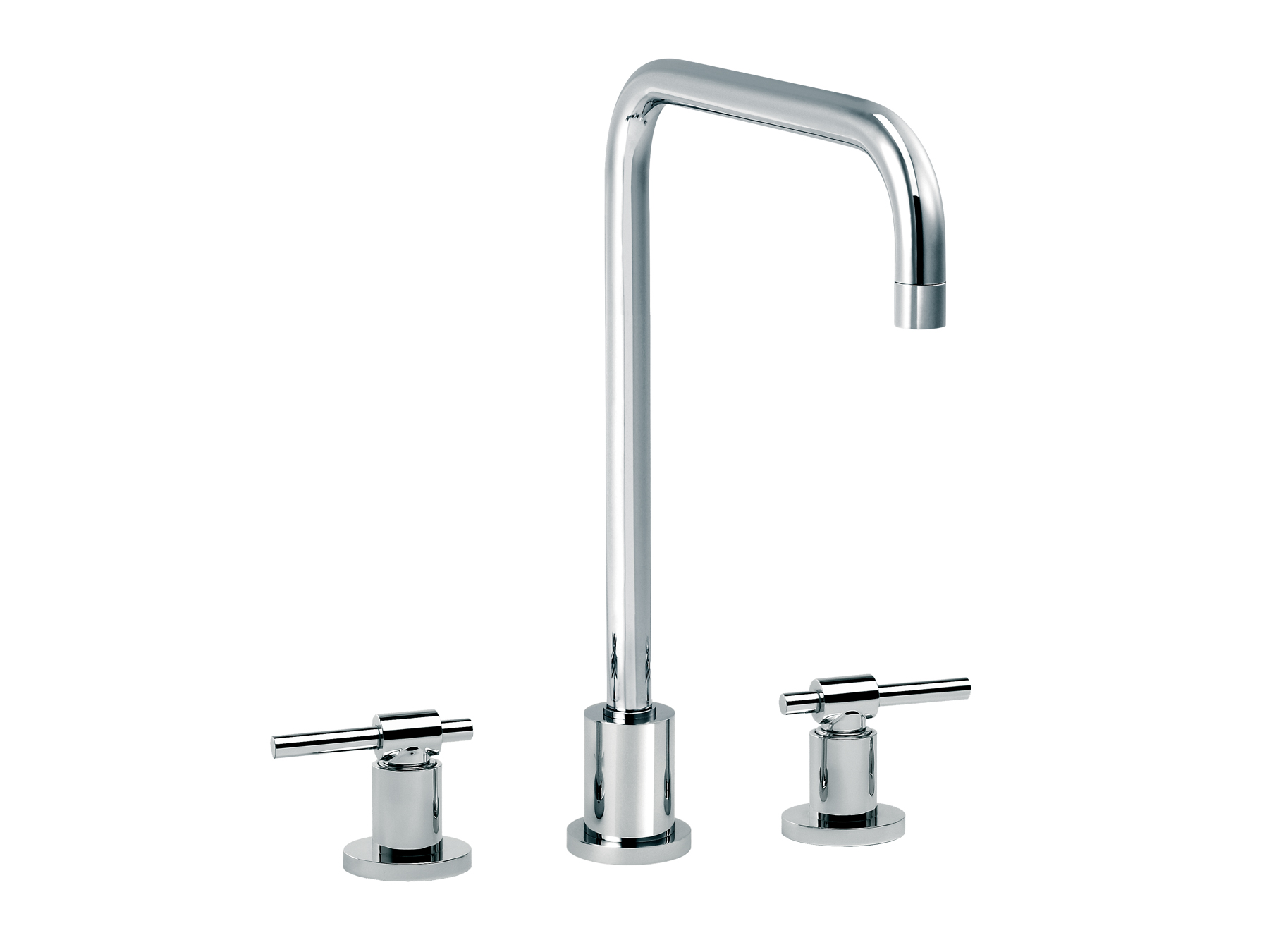 3-hole kitchen mixer, spout in U 4027.--.27