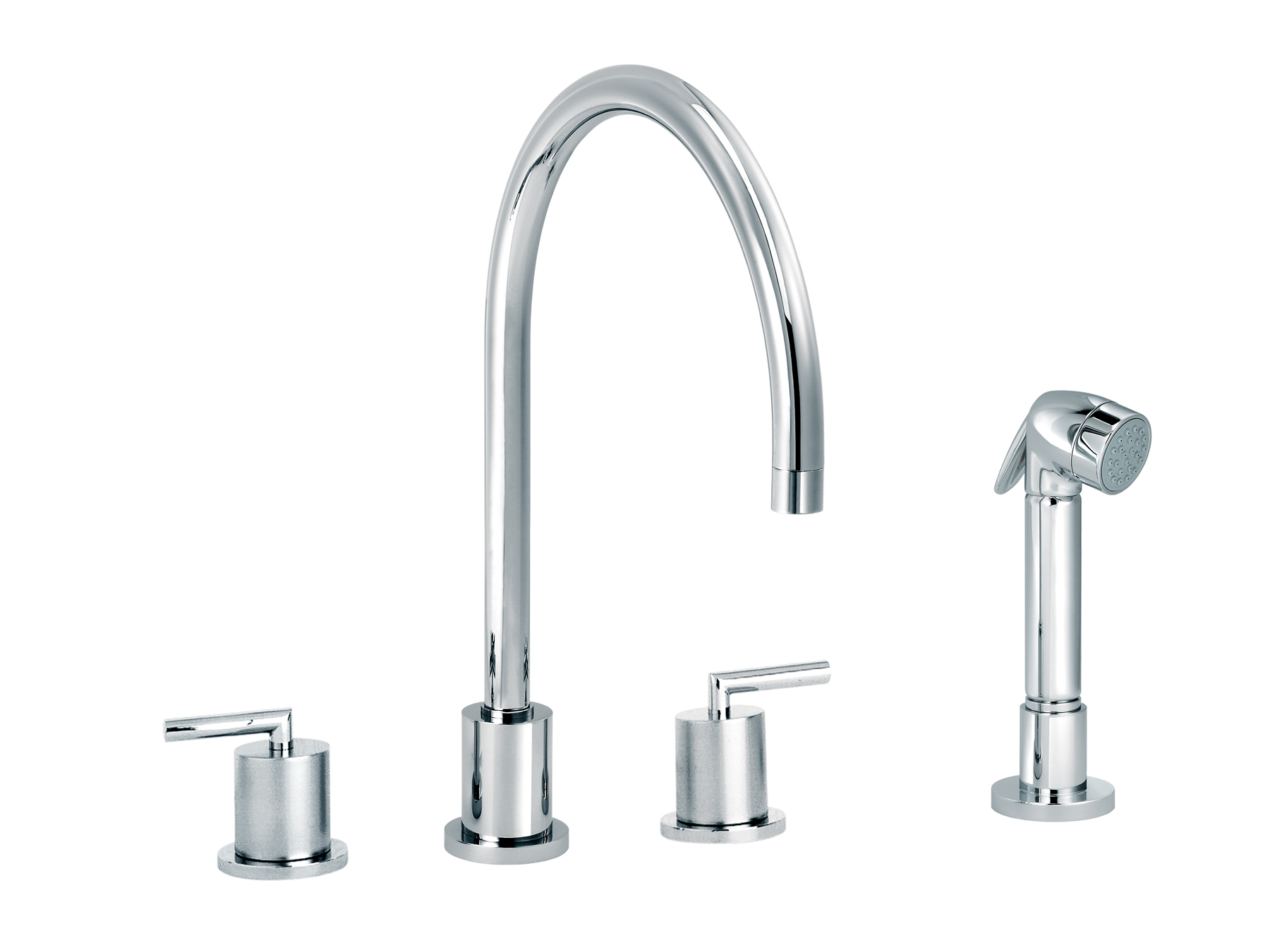 3-hole kitchen mixer, handshower 4031.--.28
