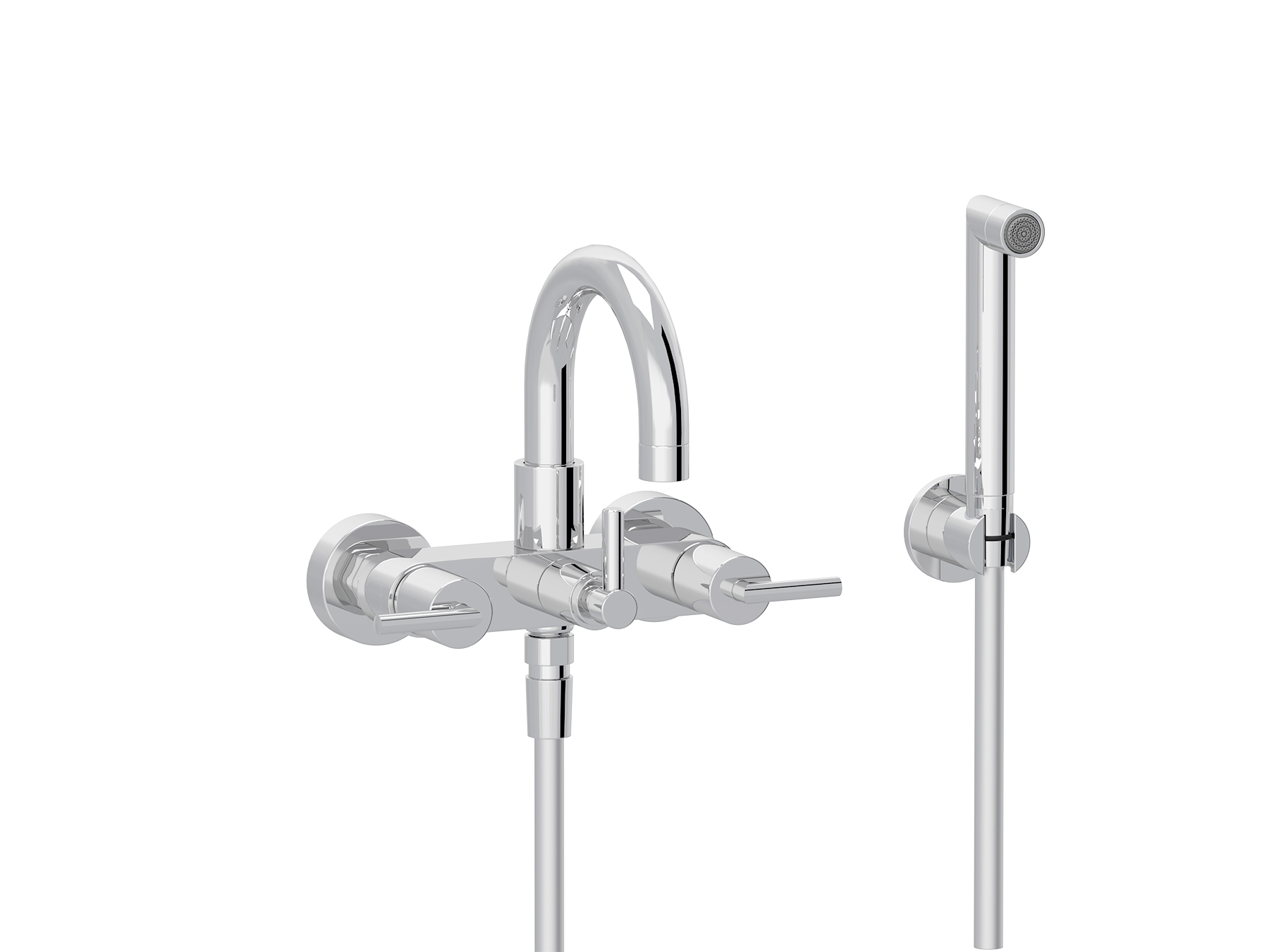 Bath-shower mixer 4031.--.67