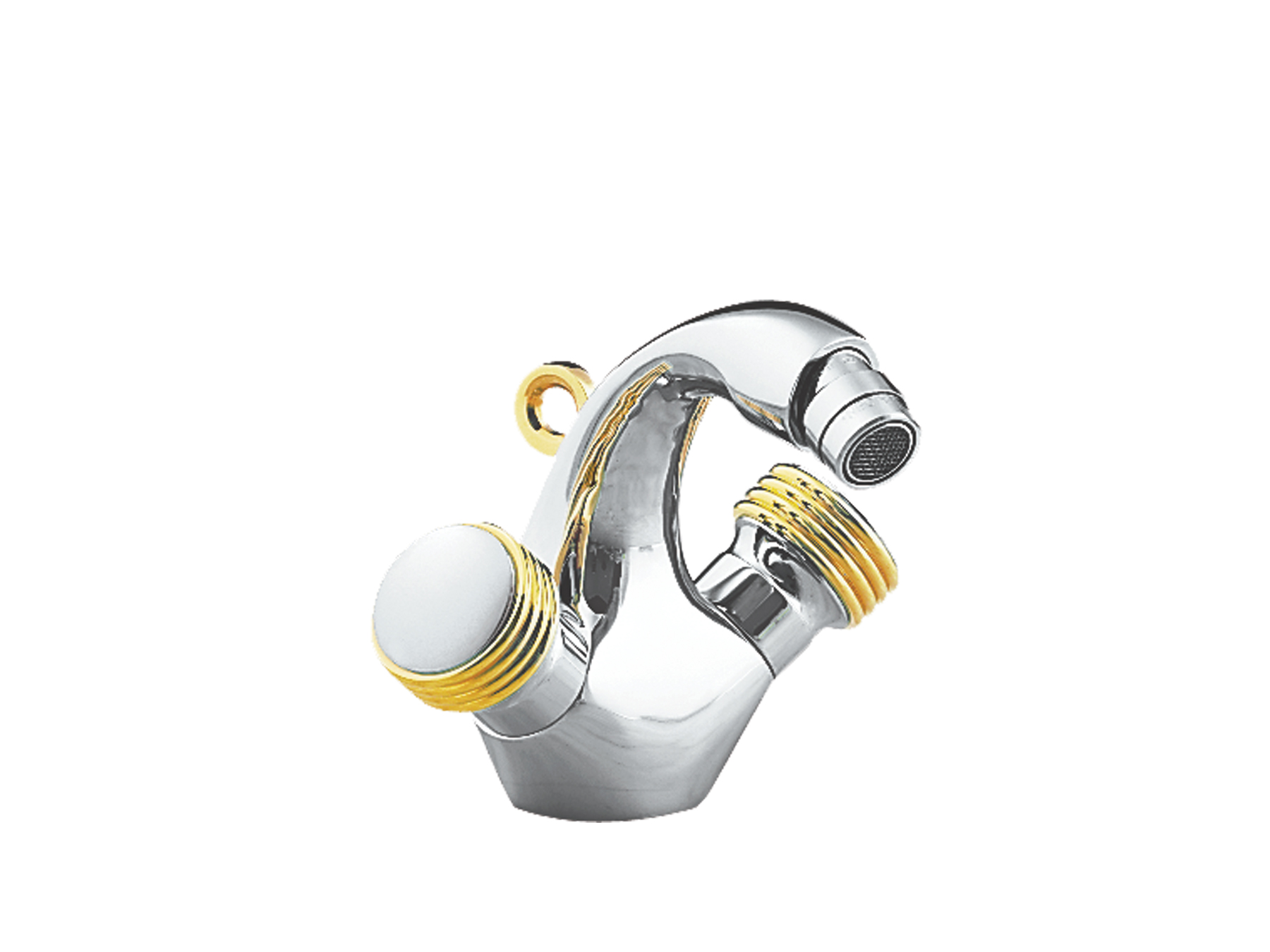 Bidet mixer, with waste 4034.--.54
