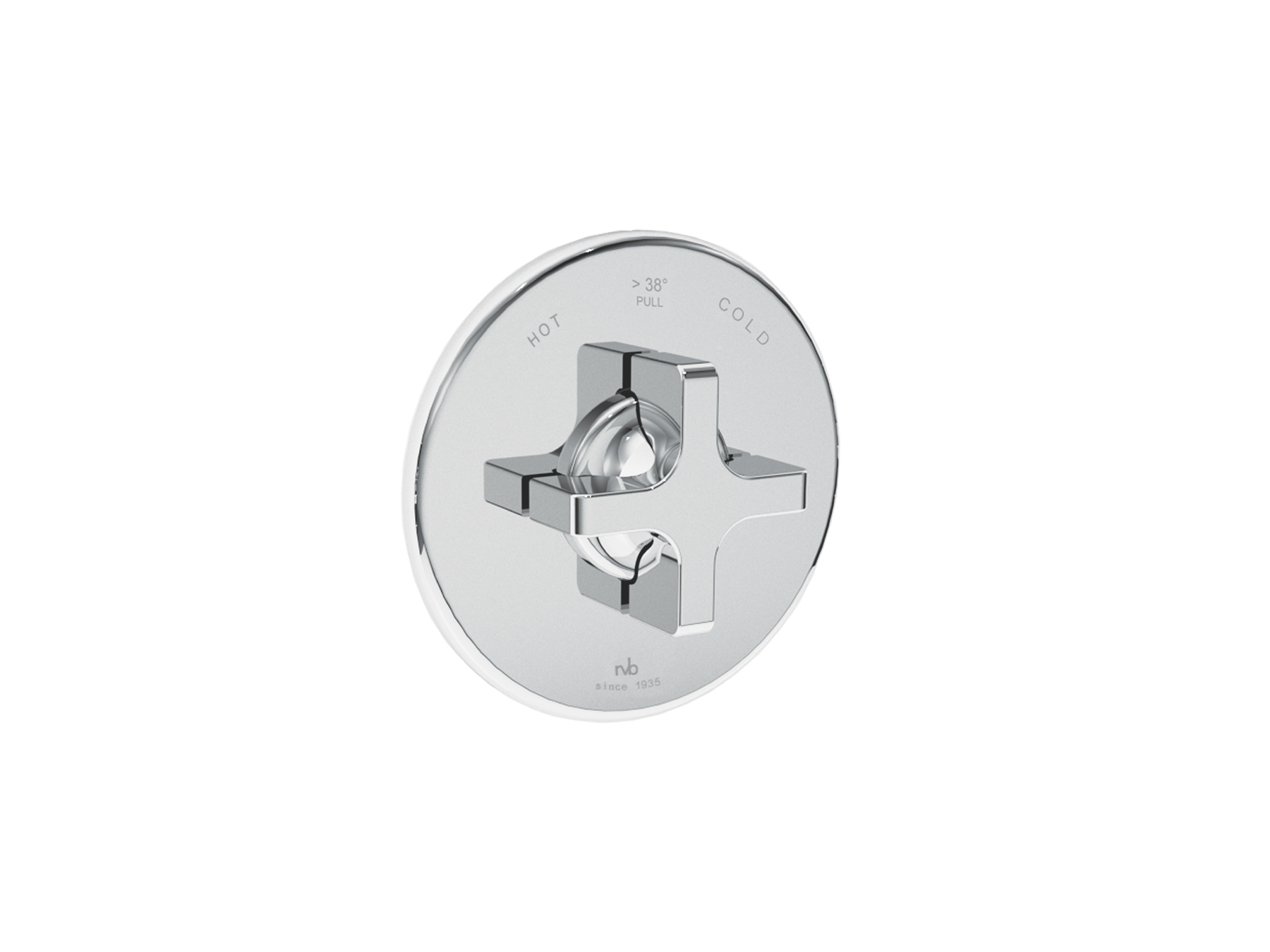 Concealed shower thermostat 4073.--.74