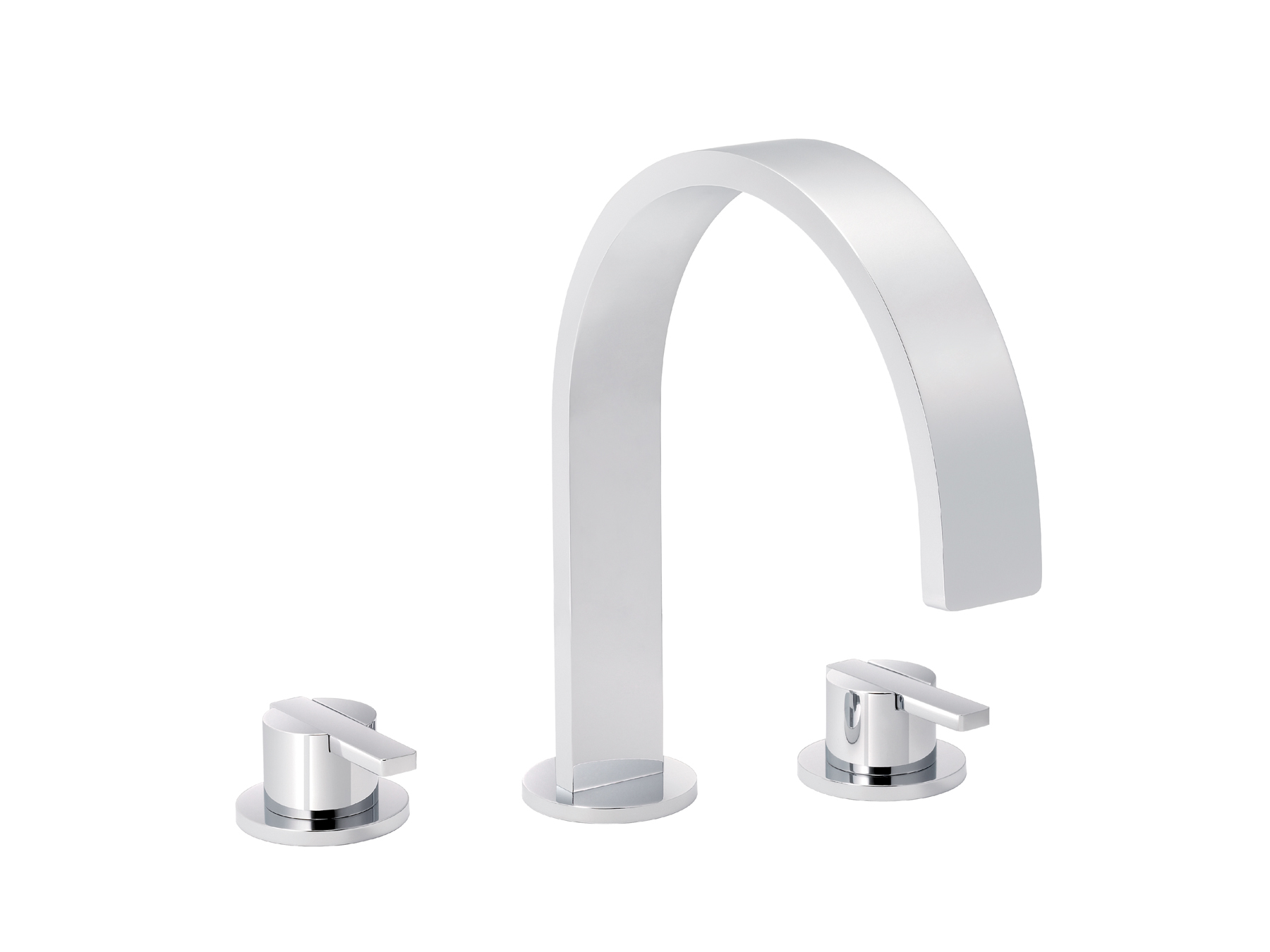 3-hole washbasin mixer, with waste 4075.--.45