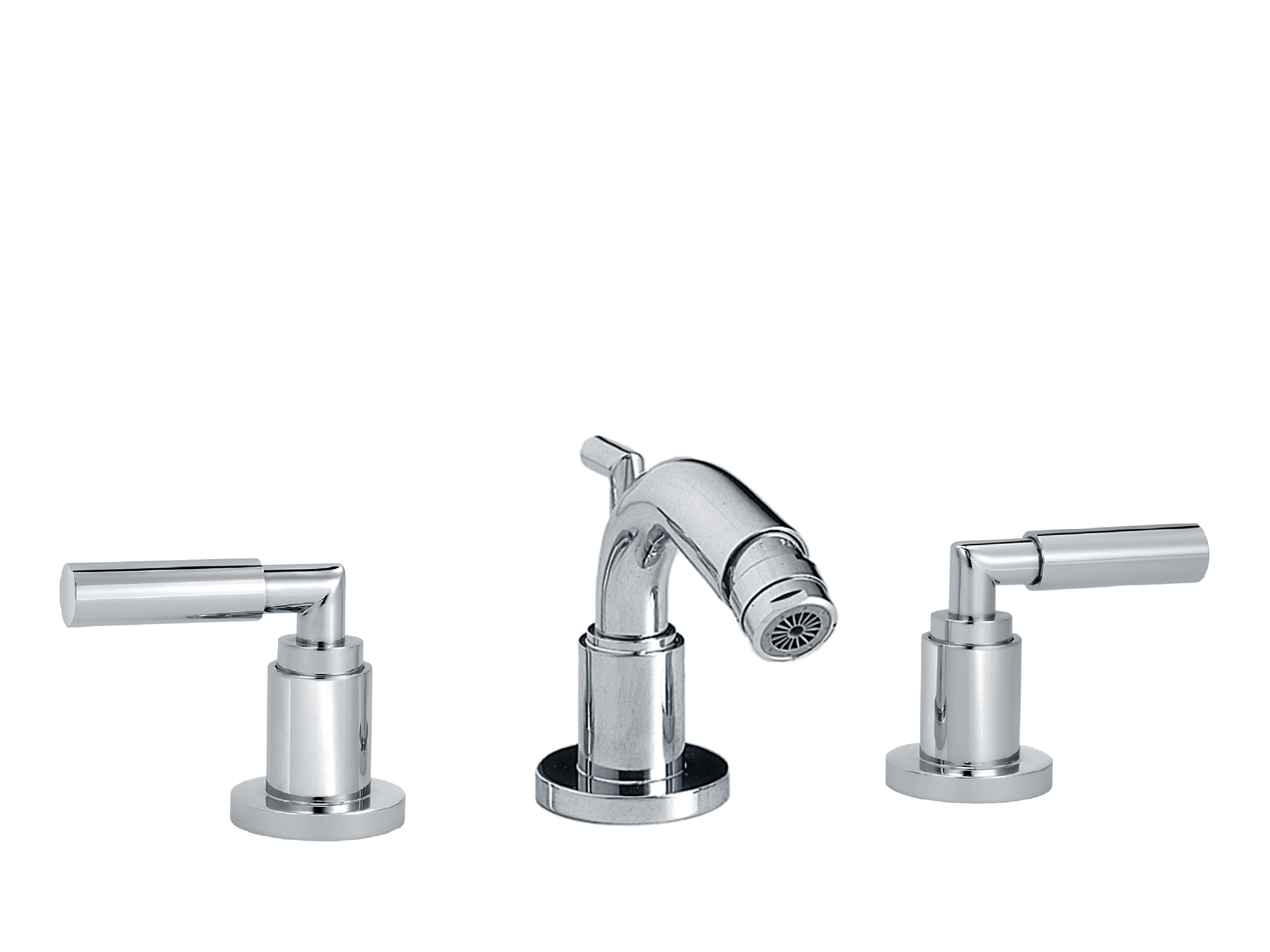3-hole bidet mixer, with waste 4091.--.57