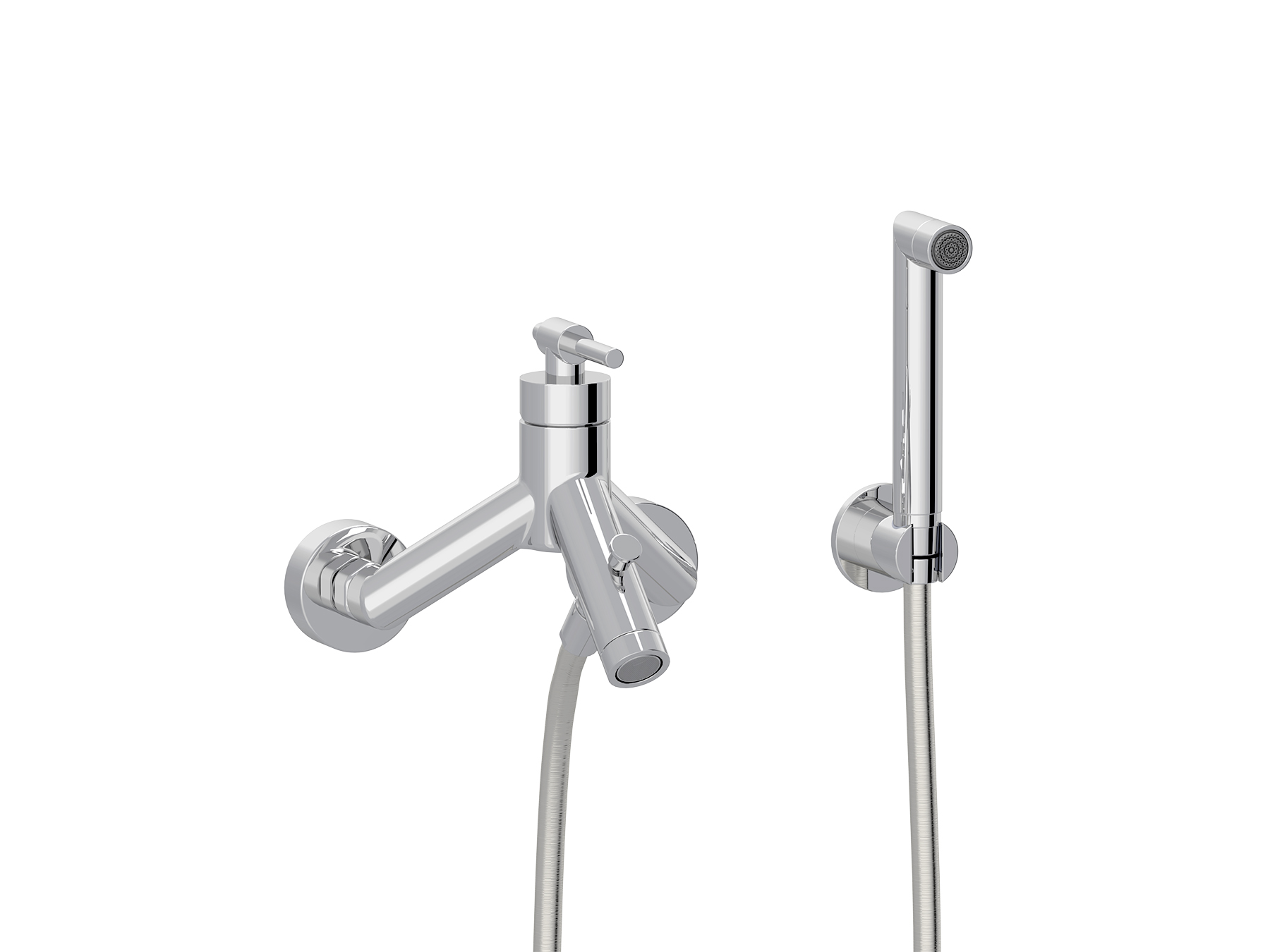 Concealed single-lever bath mixer, handshower 4527.--.30