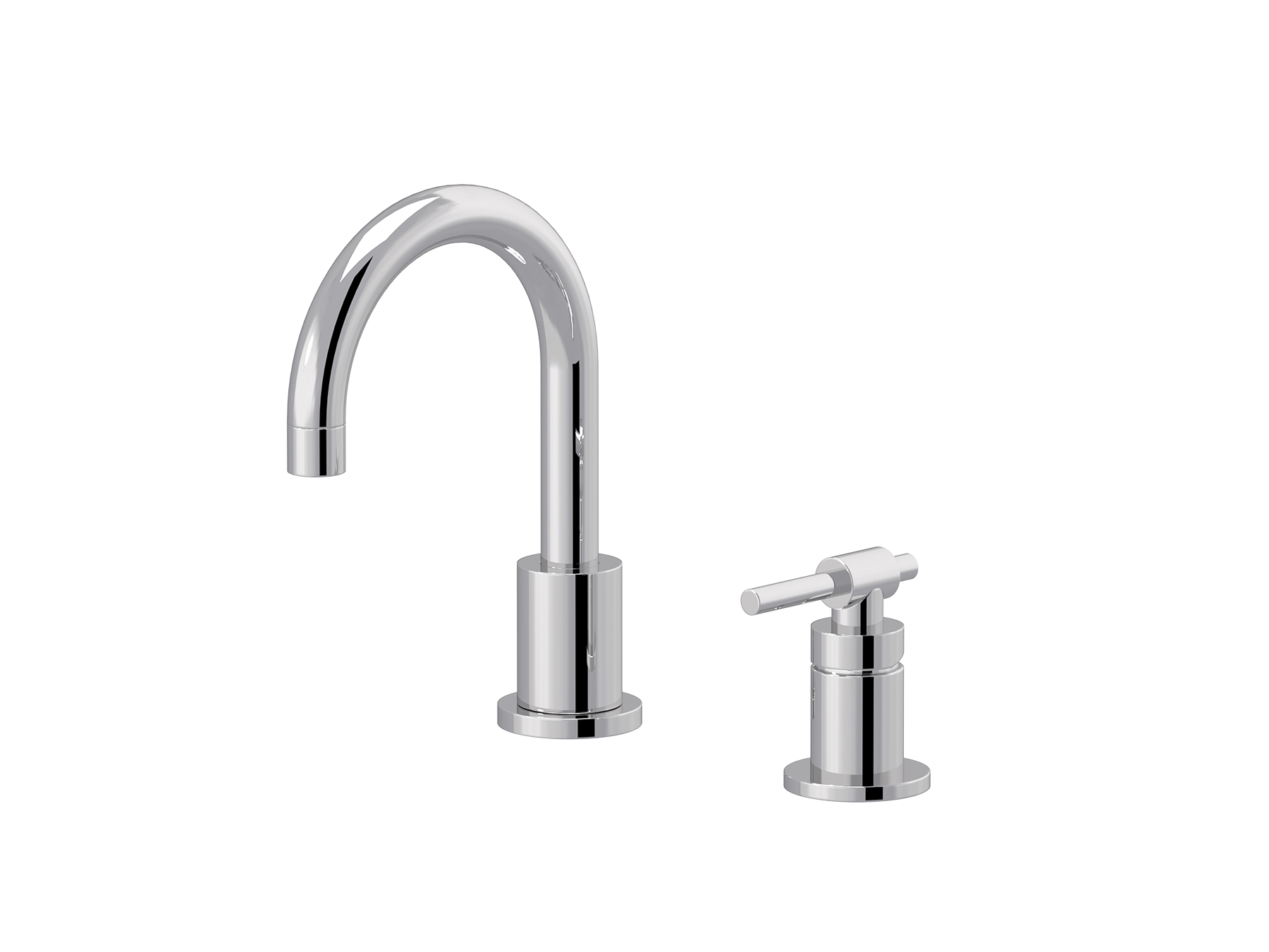 2-hole single-lever washbasin mixer 4527.--.45