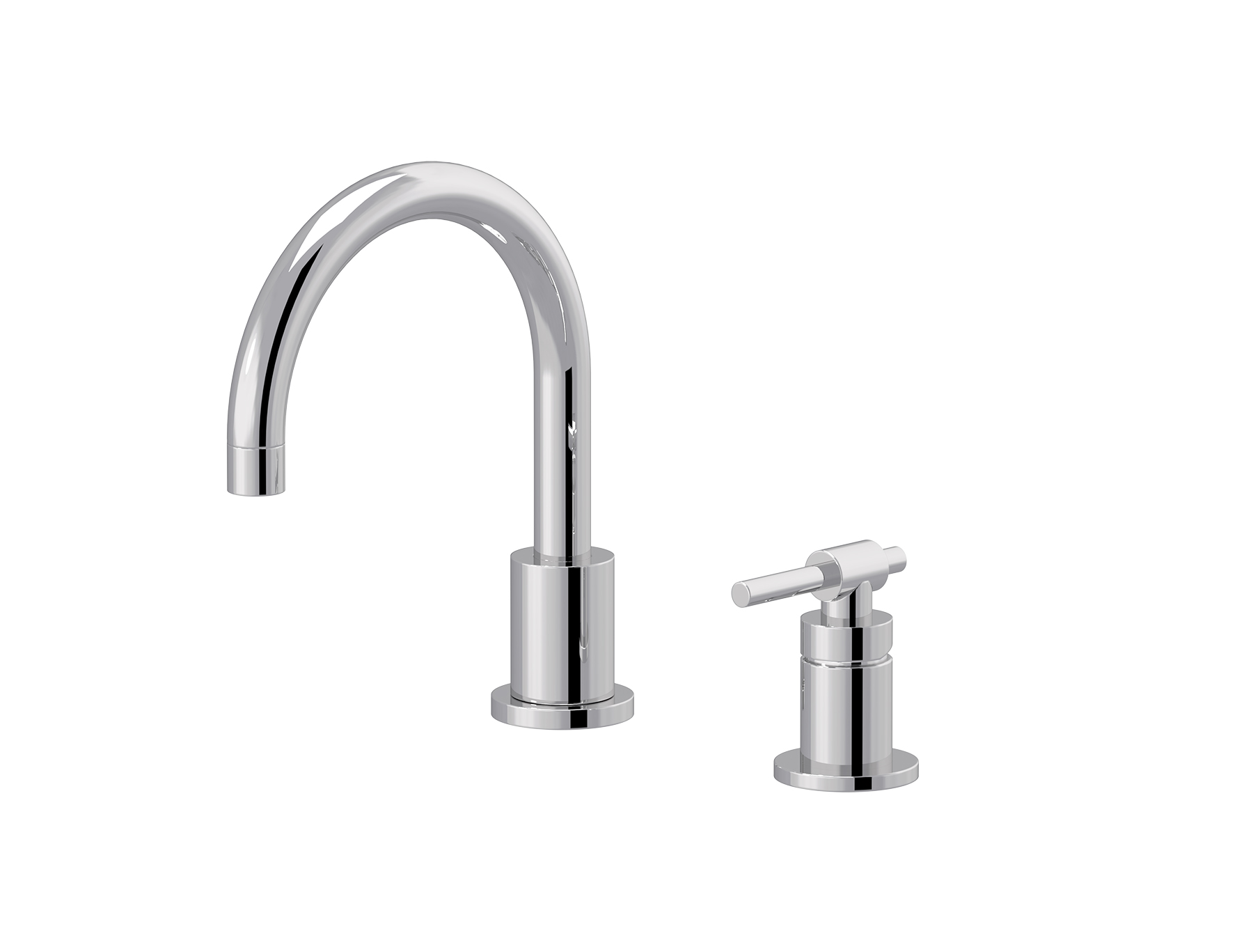 Single-lever washbasin mixer, great spout 4527.--.49