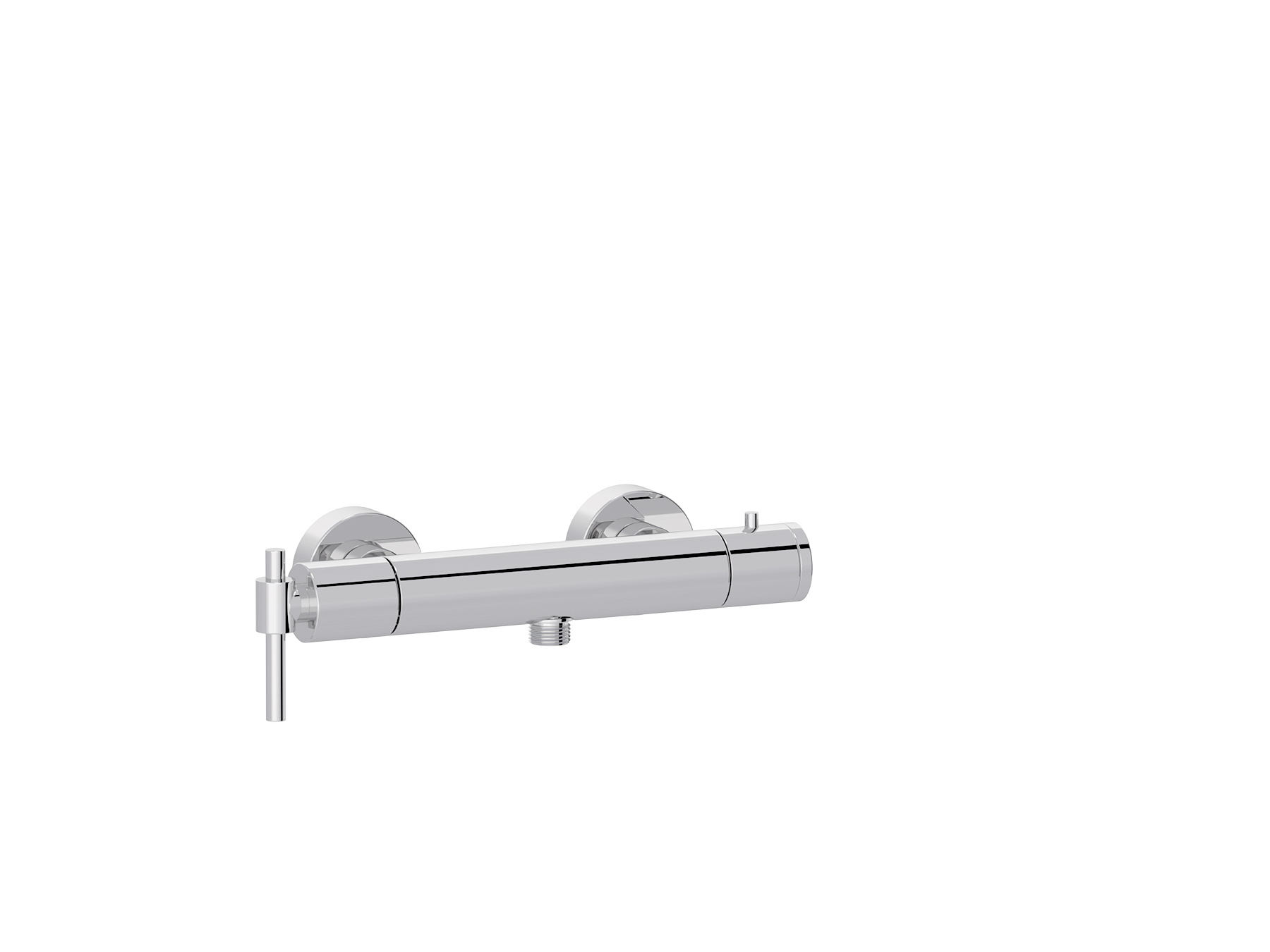 Wall-mounted shower thermostat 4527.--.73