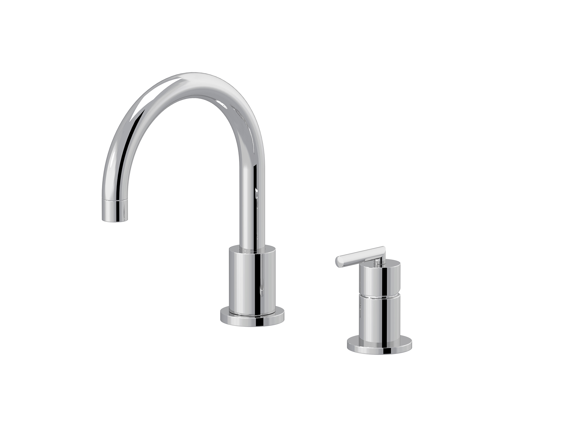 2-hole single-lever washbasin mixer, great spout 4531.--.49