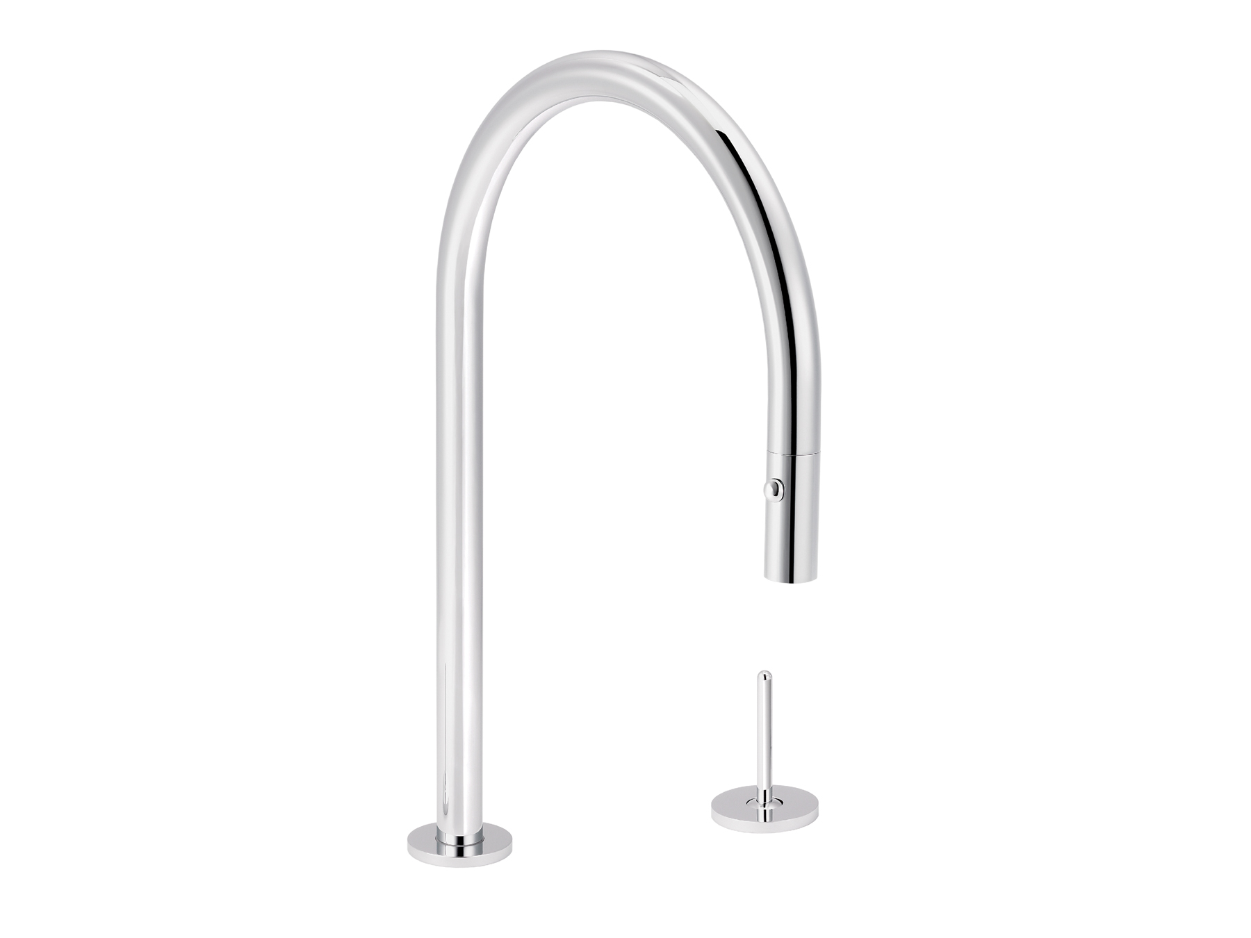 Single-lever mixer for kitchen with integrated han 4570.--.28