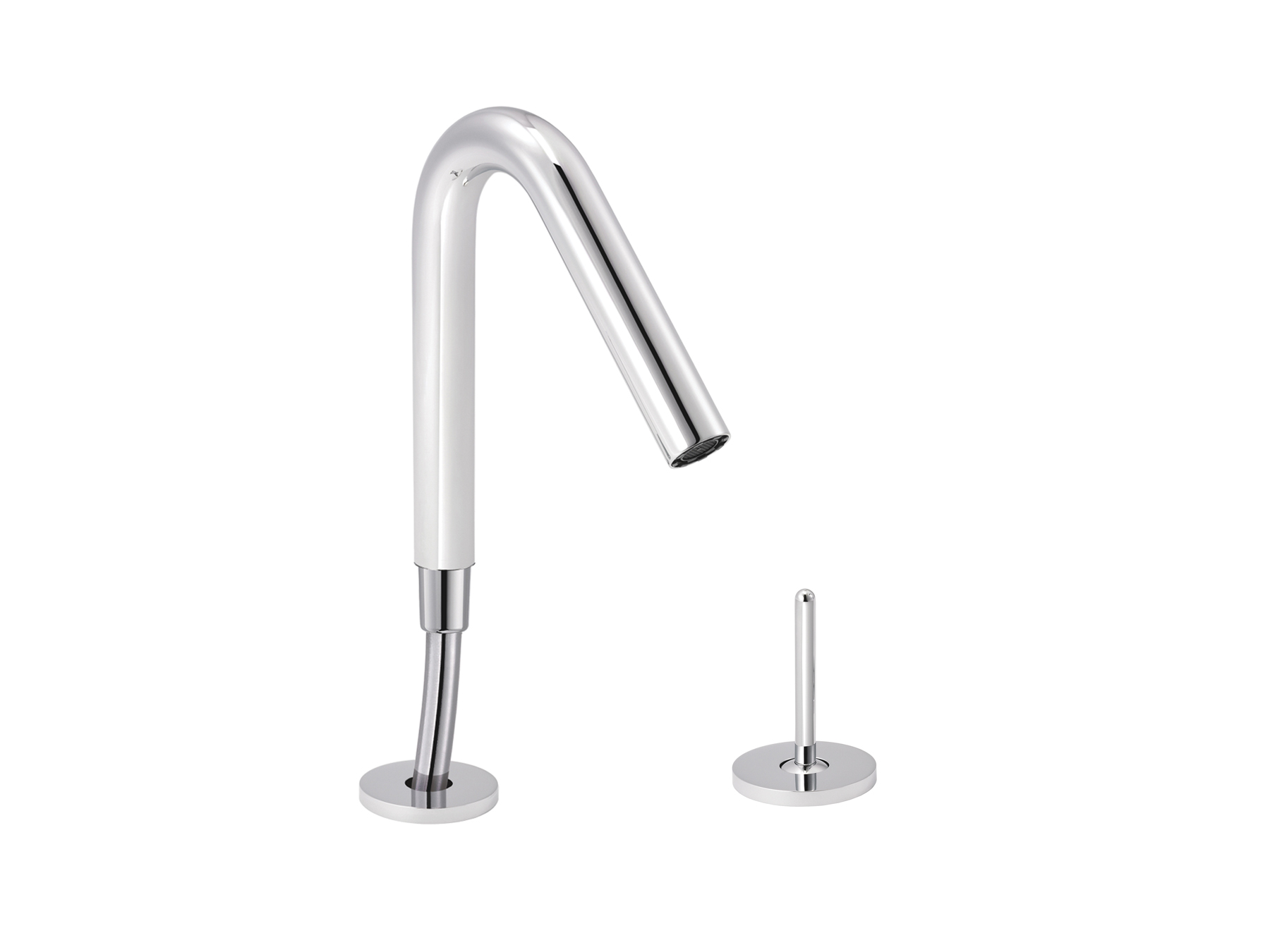 Single-lever bath mixer, with intregated handshower 4570.--.70