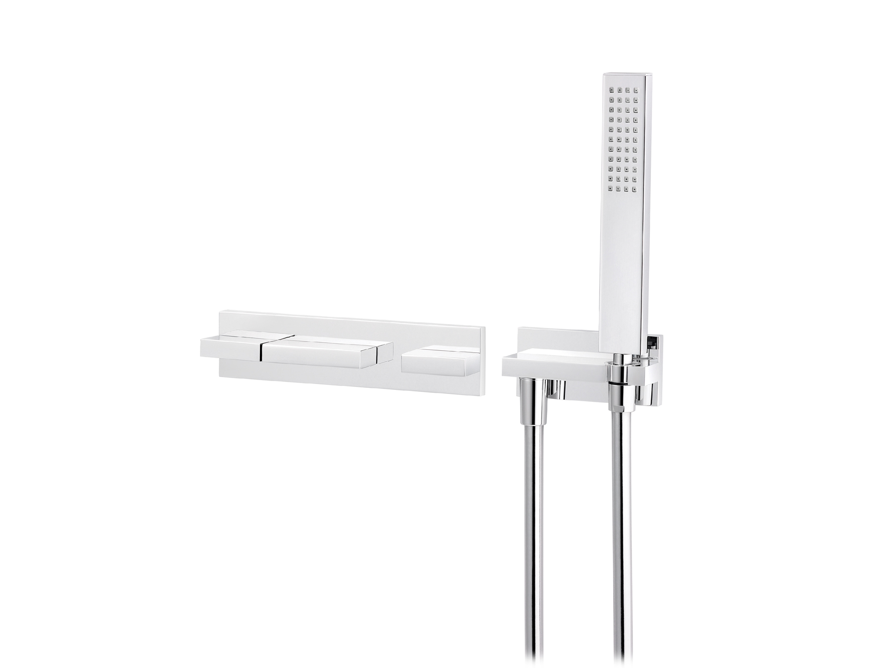 Concealed bath and shower mixer, without spout 4585.--.74