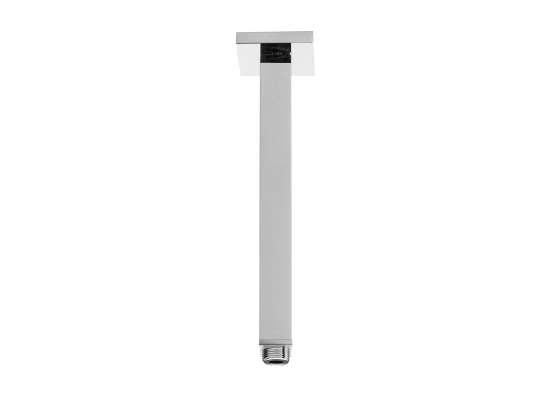 Square shower arm - 340mm 8020.--.82